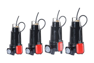 SUBMERSIBLE ELECTROPUMPS VRX 0,37/2,2 KW